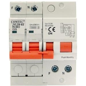 Intrerupator automat diferential combinat 10kA RCBO