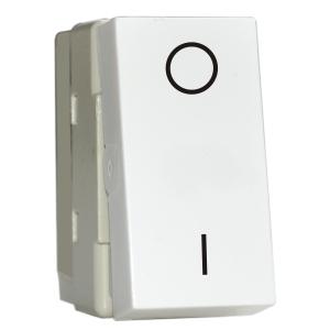 Intrerupator Bipolar Stil Premium alb aparataj de camera Comtec