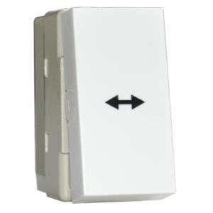 Intrerupator Cap Cruce Stil Premium alb aparataj de camera Comtec