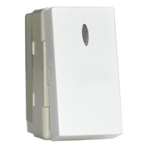 Intrerupator Simplu cu Led Stil Premium alb aparataj de camera Comtec