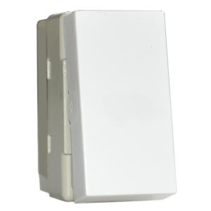 Intrerupator Simplu premium alb aparataj de camera Comtec
