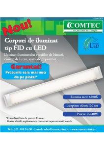 Corpuri de iluminat FID cu LED