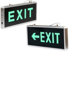 EXIT cu LED