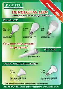 Becuri cu LED COMTEC